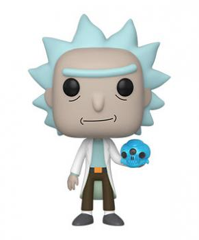 Rick and Morty POP! Vinyl Figure - Rick w/ Crystal Skull
