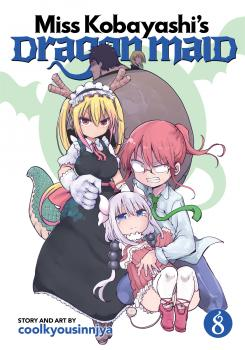 Miss Kobayashi's Dragon Maid Manga Vol. 8