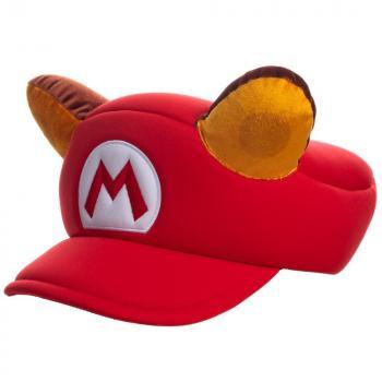 Nintendo Cap - Super Mario Bros Racoon Cosplay