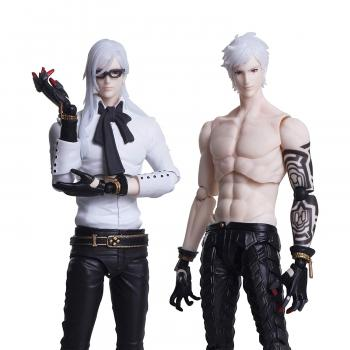 Automata NieR Bring Arts Action Figure - Adam & Eve (Set of 2)