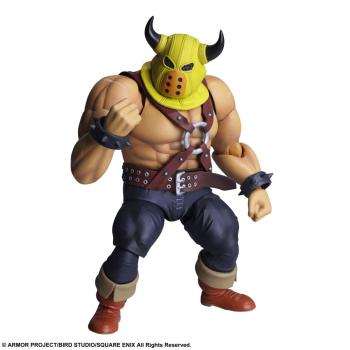 Dragon Quest Bring Arts Action Figure - Toughie (Armourer Ver.)