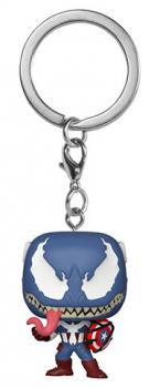 Venom Pocket POP! Key Chain - Captain America (Marvel)