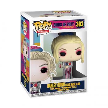 Birds of Prey POP! Vinyl Figure - Harley Quinn (Black Mask Club)