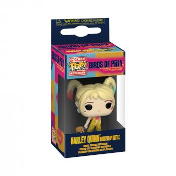 Birds of Prey Pocket POP! Key Chain - Harley Quinn (Boobytrap Battle)