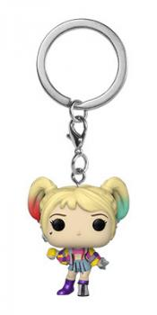 Birds of Prey Pocket POP! Key Chain - Harley Quinn (Caution Tape)