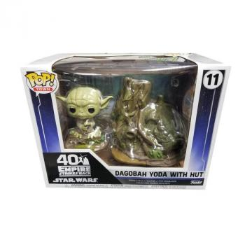 Star Wars POP! Town Vinyl Figure - Yoda's Hut