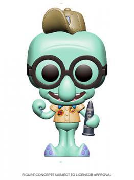SpongeBob SquarePants POP! Vinyl Figure - Squidward (Scout) w/ Flute