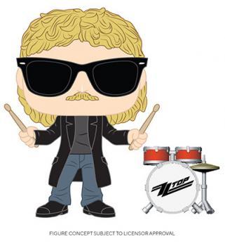 Pop Rocks ZZ Top POP! Vinyl Figure - Frank Beard