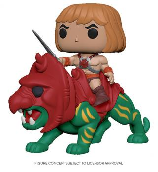 Masters of the Universe POP! Rides Vinyl Figure - He-Man on Battle Cat