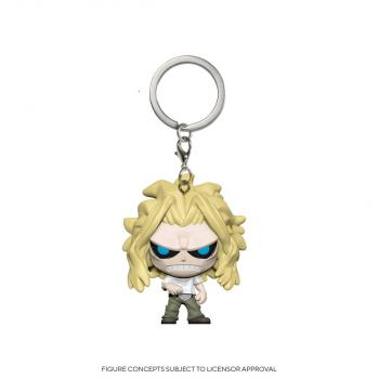 My Hero Academia Pocket POP! Key Chain - All Might (Weakened)