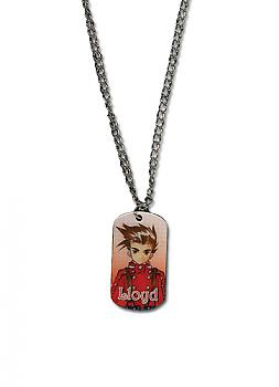 Tales Of Symphonia Necklace - Lloyd Dog Tag