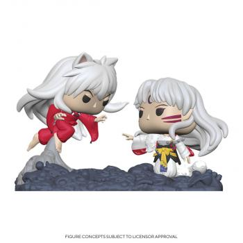 Inuyasha POP! Vinyl Figure - Inuyasha Vs. Sesshomaru Movie Moments