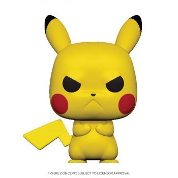 Pokemon POP! Vinyl Figure - Pikachu (Grumpy)