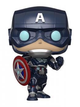 Avengers Game POP! Vinyl Figure - Captain America (Stark Tech Suit) (Marvel)