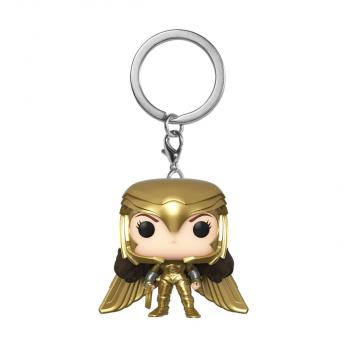 Wonder Woman 1984 Pocket POP! Key Chain - Wonder Woman (Golden Armor)