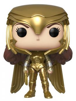 Wonder Woman 1984 POP! Vinyl Figure - Wonder Woman (Golden Armor) (Metallic)