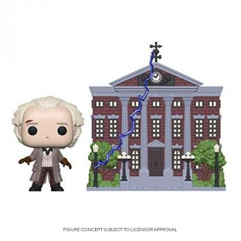 Back to the Future POP! Town Vinyl Figure - Doc and Clock Tower