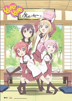 YuruYuri Fabric Poster - Tea Room