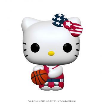 Hello Kitty Sports POP! Vinyl Figure - Basketball Hello Kitty