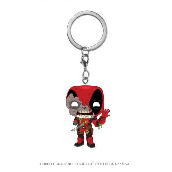 Deadpool Pocket POP! Key Chain - Zombies Deadpool (Marvel)