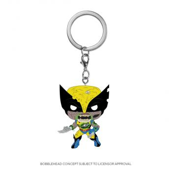 Wolverine Pocket POP! Key Chain - Zombies Wolverine (Marvel)