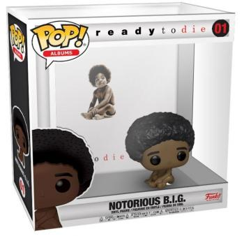 Notorious B.I.G POP! Albums Vinyl Figure - Ready To Die
