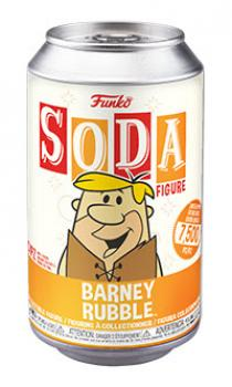 The Flintstones Vinyl Soda Figure - Barney Rubble (Limited Edition: 7500 PCS)