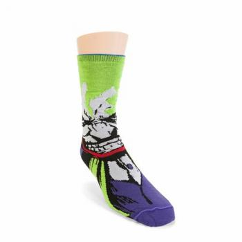 Batman Socks - Batman/Joker Reversible Unisex