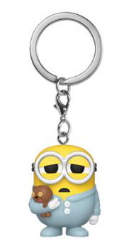 Minions Rise of Gru Pocket POP! Key Chain - Pajama Bob