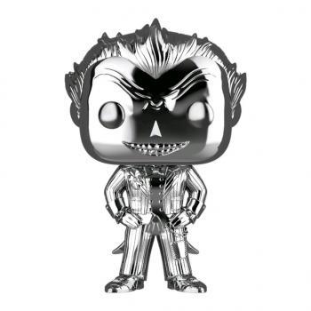 Batman Arkham Asylum POP! Vinyl Figure - The Joker (Silver Chrome) (DC) (Overseas Edition)