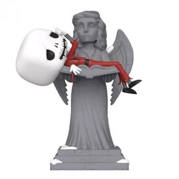 Nightmare Before Christmas POP! Vinyl Figure - Jack on Angel Statue Movie Moment (Overseas Edition)
