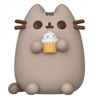 Pusheen the Cat POP! Vinyl Figure - Pusheen w/Cupcake (Overseas Edition)