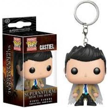 Supernatural Pocket POP! Key Chain - Castiel w/ Wings (Overseas Edition)