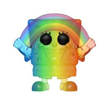 Spongebob Square Pants POP! Vinyl Figure - Spongebob Rainbow (Pride 2020)