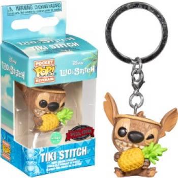 Lilo & Stitch Pocket POP! Key Chain - Tiki Stitch (Disney) (Special Edition)