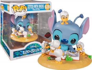 Lilo & Stitch POP! Vinyl Figure - Stitch w/ Ducklings (Disney) (Special Edition)