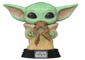 Star Wars: Mandalorian POP! Vinyl Figure - The Child w/ Frog