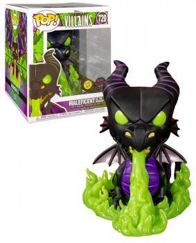"Maleficent 6"" POP! Vinyl Figure - Maleficent (Disney) (GITD Flames) (Special Edition)"
