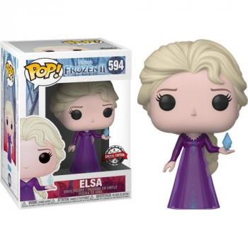 Frozen 2 POP! Vinyl Figure - Elsa (Nightgown) (Special Edition) (Disney) [STANDARD]