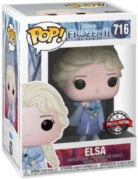 Frozen 2 POP! Vinyl Figure - Elsa w/ Bruni Pop Figure (Special Edition) (Disney)