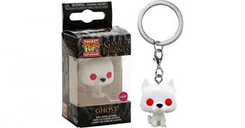 Game of Thrones Pocket POP! Key Chain - Ghost (Flocked) (Special Edition)