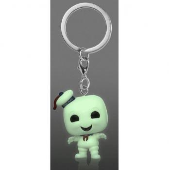 Ghostbusters Pocket POP! Key Chain - Stay Puft (GITD) (Special Edition)