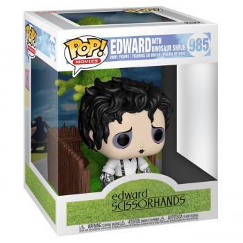 Edward Scissorhands POP! Deluxe Vinyl Figure - Edward and Dino Hedge