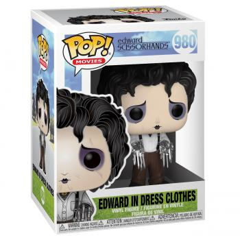 Edward Scissorhands POP! Vinyl Figure - Edward Scissorhands (Dress Shirt)
