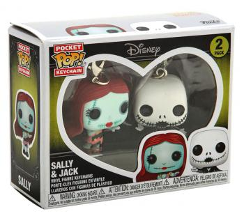 Nightmare Before Christmas Pocket POP! Key Chain - Ghost (Flocked) (Special Edition)