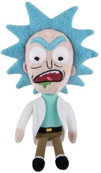 Rick and Morty Plush - Rick (Mad) Galactic