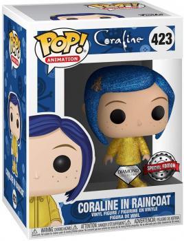 Coraline POP! Vinyl Figure -  Coraline (Diamond) (Special Edition)