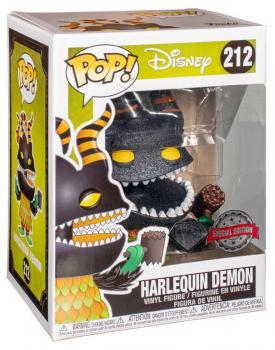 Nightmare Before Christmas POP! Vinyl Figure - Harlequin Demon (Diamond) (Special Edition)