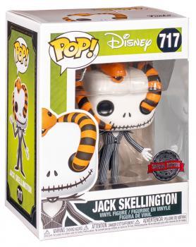 Nightmare Before Christmas POP! Vinyl Figure - Jack Skellington (Snake Head) (Special Edition)