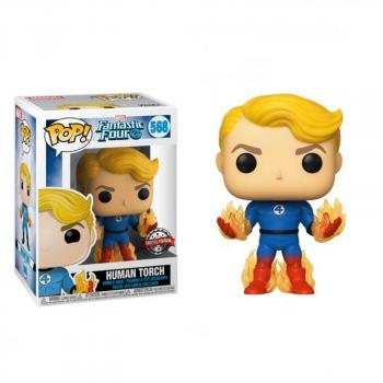 Fantastic Four POP! Vinyl Figure - Human Torch (Flame On) (Special Edition)